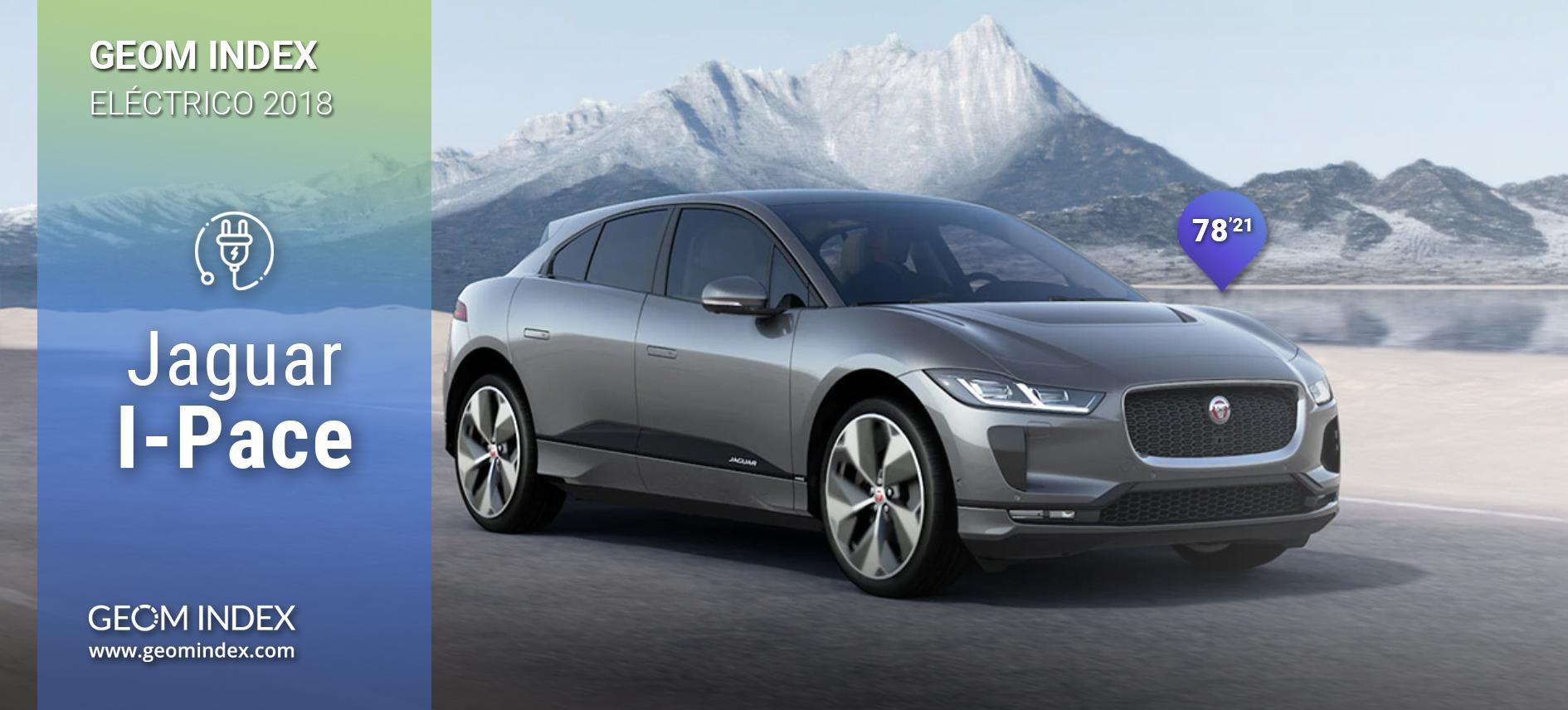 El Jaguar I-Pace se convierte en el eléctrico más valorado por los internautas en el último año