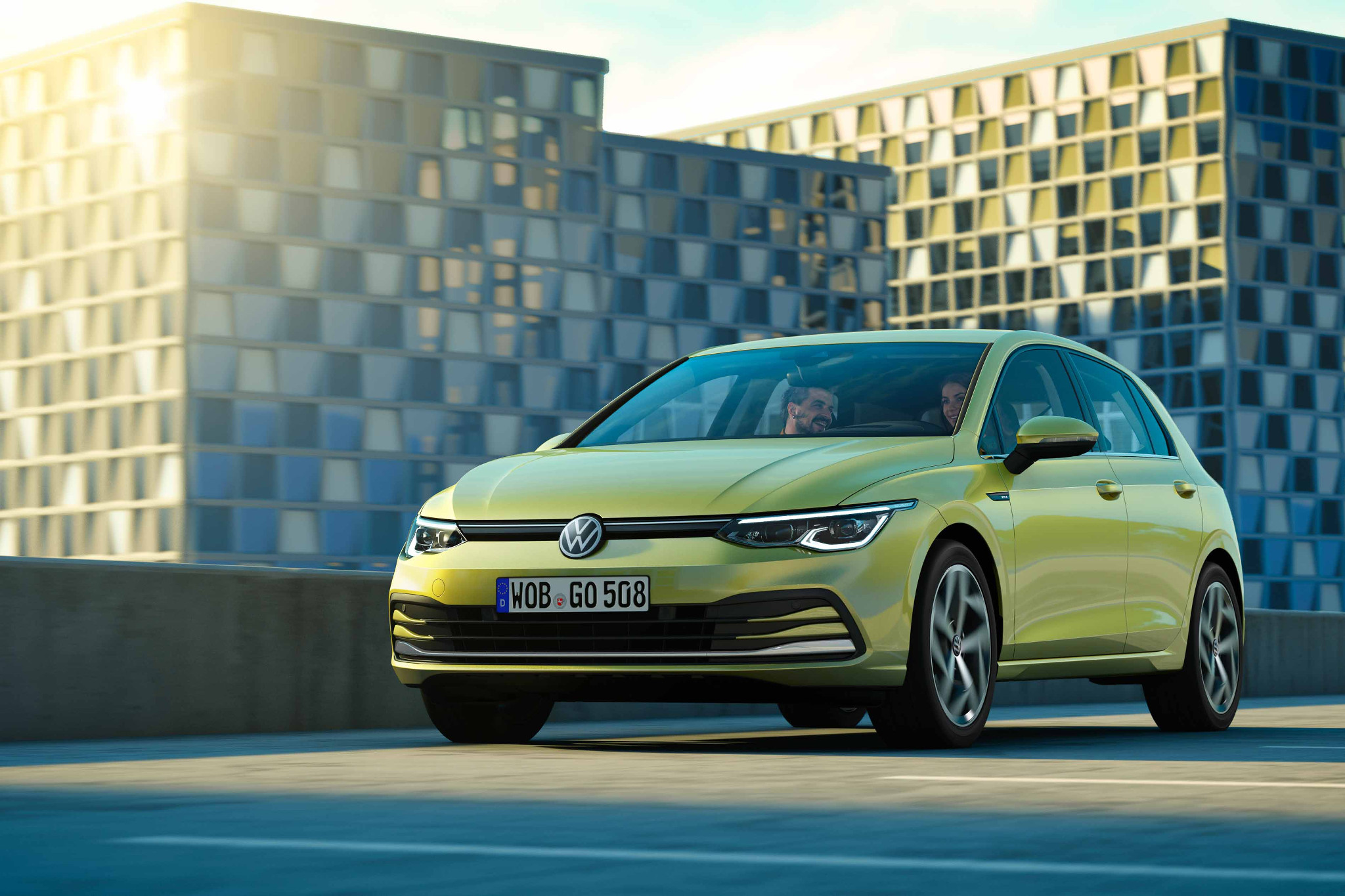 El VW Golf es el modelo del que más se habló en 2019