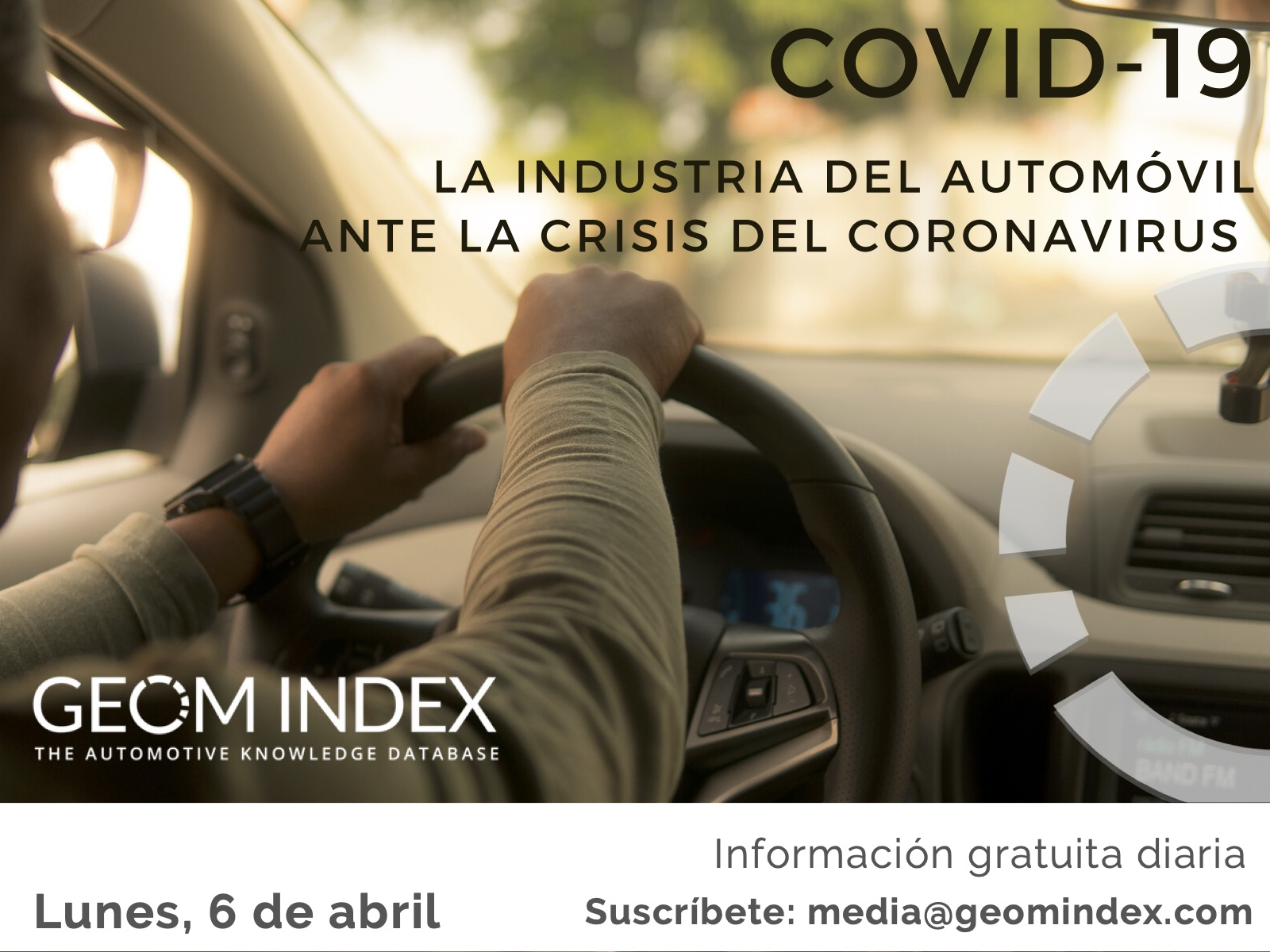 Informe 6 de abril – La industria del automóvil ante la crisis del Covid-19