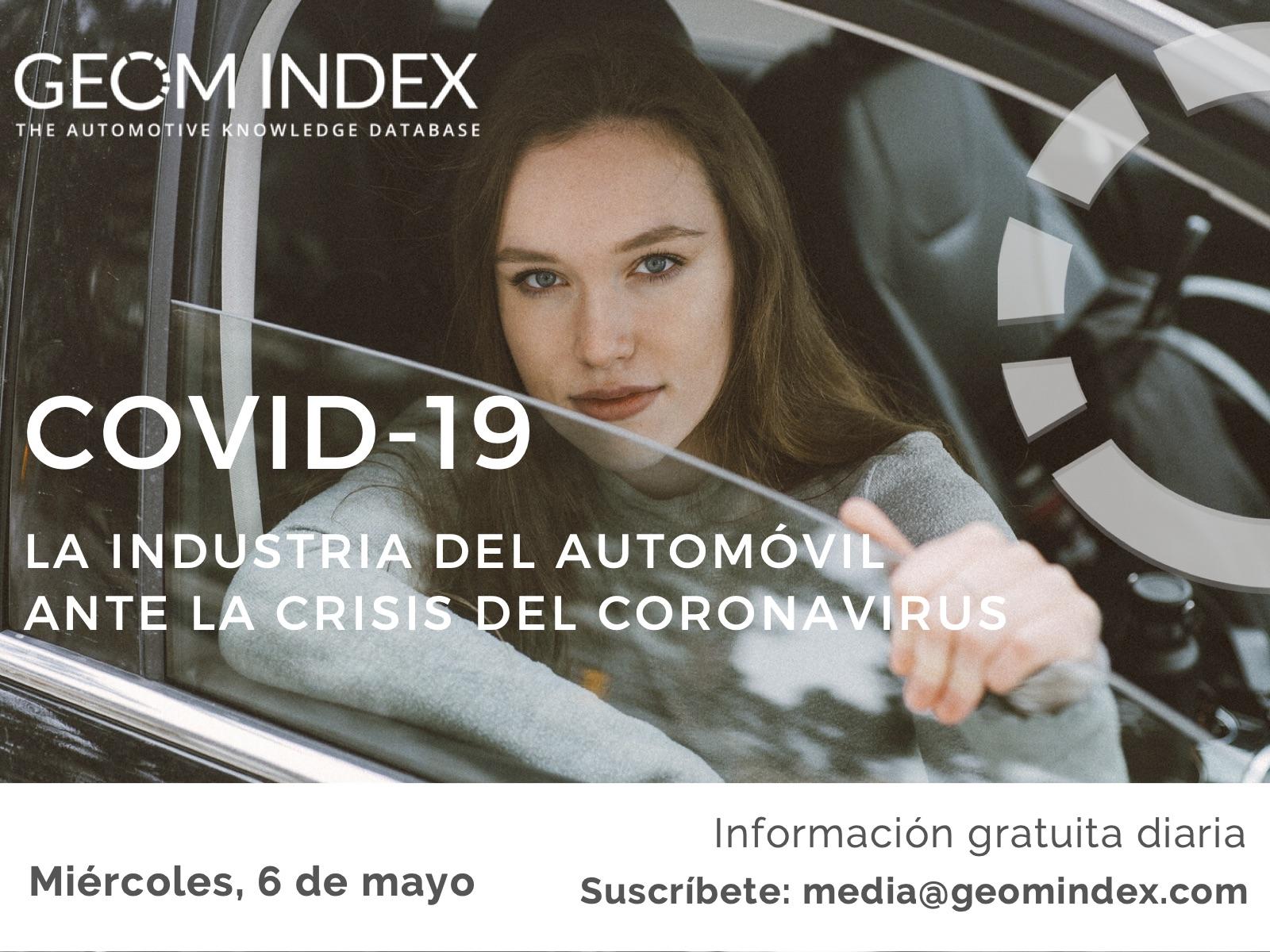 Informe 6 de mayo – La industria del automóvil ante la crisis de la covid-19