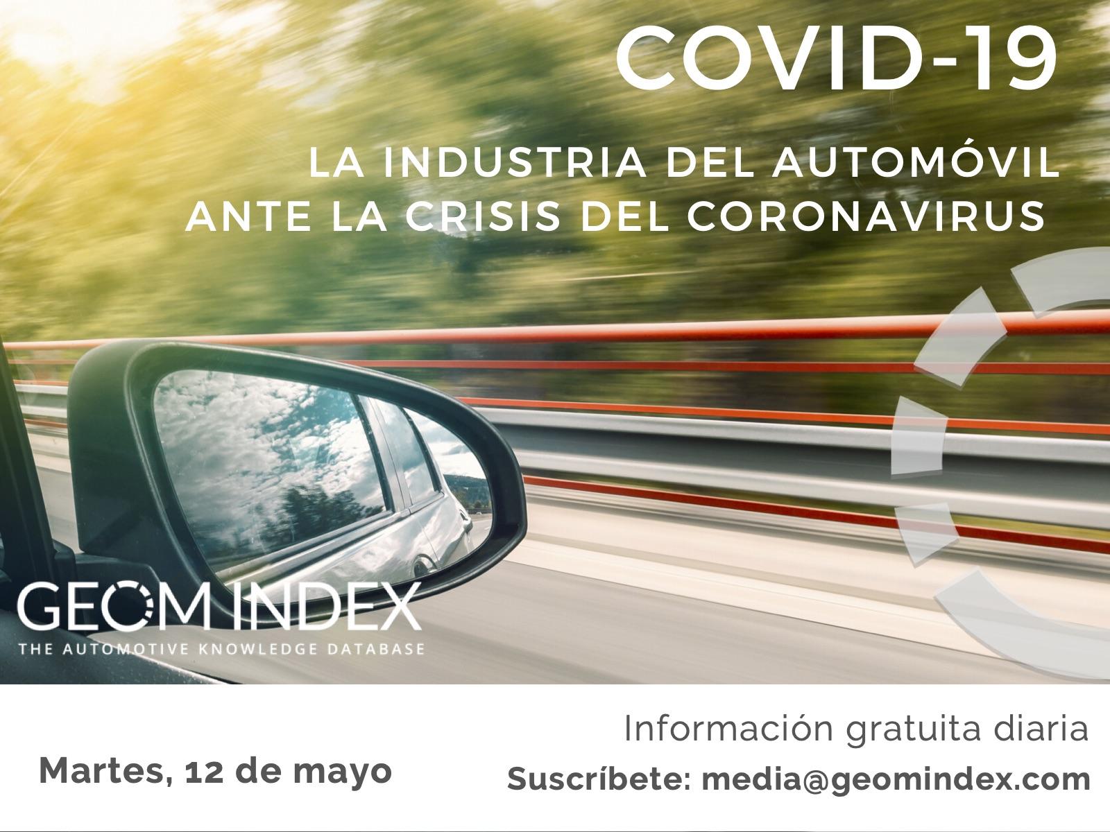 Informe 12 de mayo – La industria del automóvil ante la crisis de la covid-19